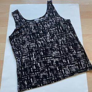 Travelers By Chico's Womens Black Tank 2 ( L/12)